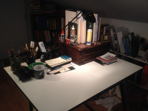 the art desk