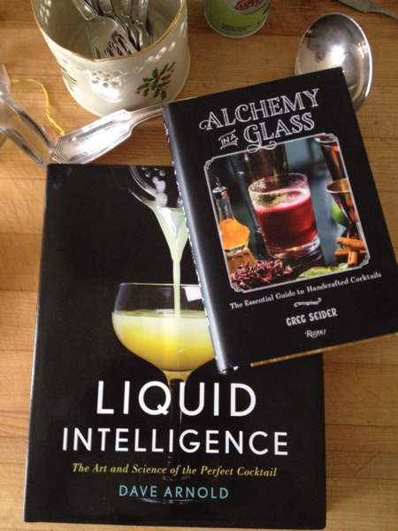 New cocktail books