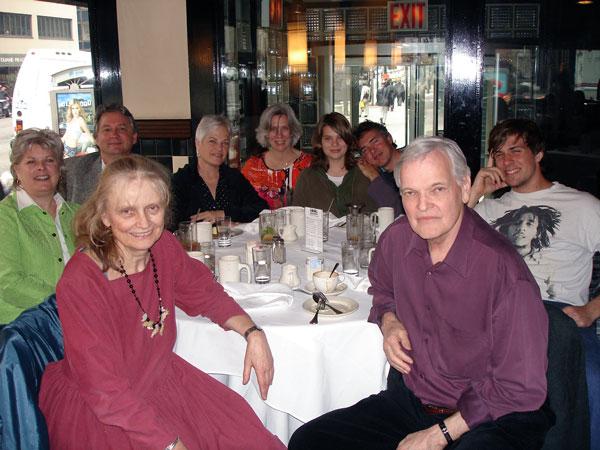 Nancy Willard, Eric Lindbloom, and Lacuna members