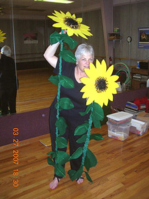 Carol Lee's sunflowers