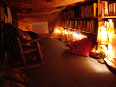 Mr. Tumnus's cave